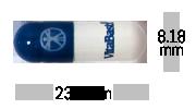 Blue White Capsule